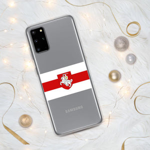 "Samsung Case Flag of Belarus with coat of arms ""Chase"" Hopikas Samsung Galaxy S20 Plus"