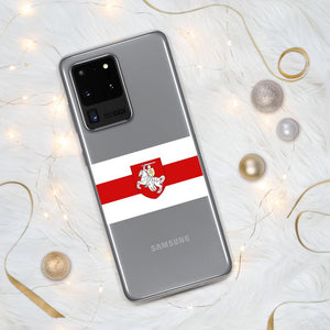 "Samsung Case Flag of Belarus with coat of arms ""Chase"" Hopikas Samsung Galaxy S20 Ultra"