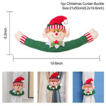 Load image into Gallery viewer, Santa Claus Curtain Decor Merry Christmas Decor for Home Hopikas Curtain Buckle5
