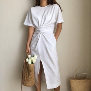 Short Sleeve Bodycon Dress Hopikas