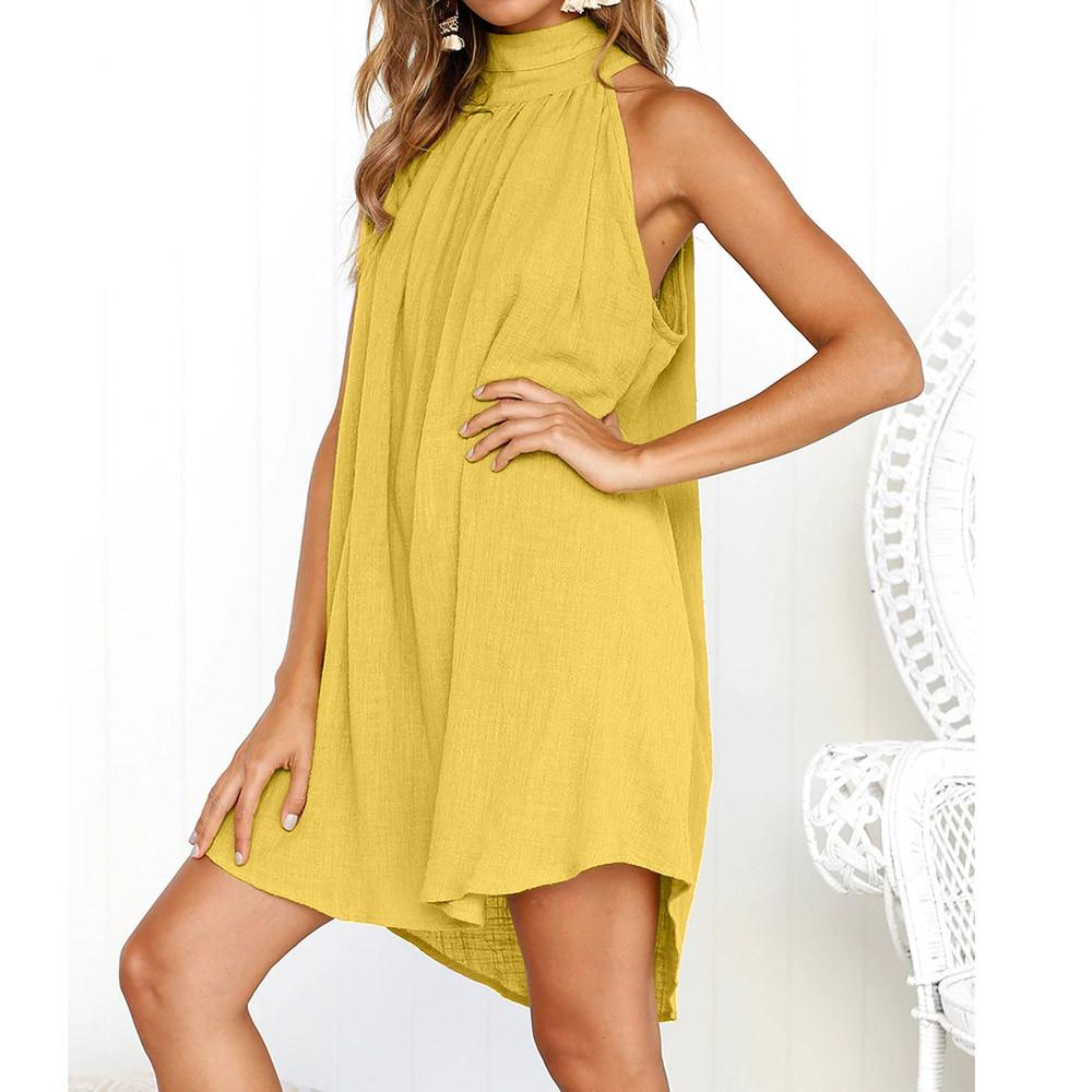 Sleeveless Dress Hopikas