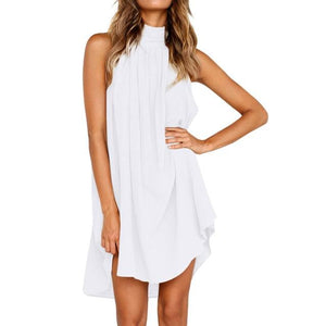 Sleeveless Dress Hopikas White S
