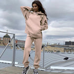Load image into Gallery viewer, Streetwear Women Joggers & Sweatshirt Hopikas pink st3 United States XL