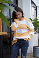 Load image into Gallery viewer, Striped Sweater Hopikas