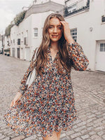 Load image into Gallery viewer, Summer Boho Floral Dress Hopikas