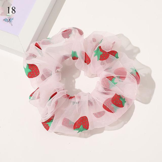 Sweet Embroidery Hair Ties Hair Ties Hopikas 20