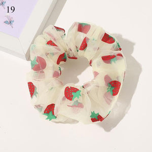 Sweet Embroidery Hair Ties Hair Ties Hopikas 21
