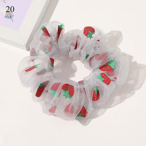 Sweet Embroidery Hair Ties Hair Ties Hopikas 22