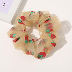Sweet Embroidery Hair Ties Hair Ties Hopikas 23