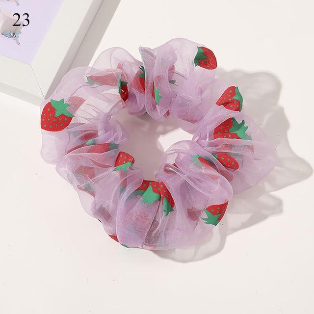 Sweet Embroidery Hair Ties Hair Ties Hopikas 25