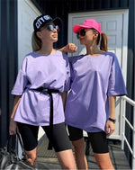 T-shirt and shorts Hopikas Purple-Black L