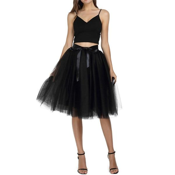 Tulle Skirt Hopikas black