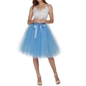 Tulle Skirt Hopikas lake blue
