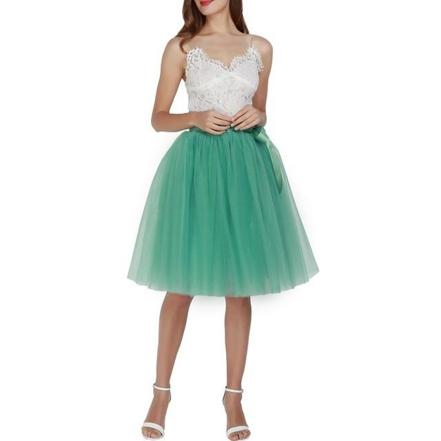 Tulle Skirt Hopikas light green
