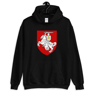 "Unisex Hoodie with coat of arms ""Chase"" Hopikas Black S"
