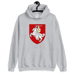 "Unisex Hoodie with coat of arms ""Chase"" Hopikas Sport Grey S"