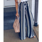 Load image into Gallery viewer, Wide Leg lace up Pants Hopikas