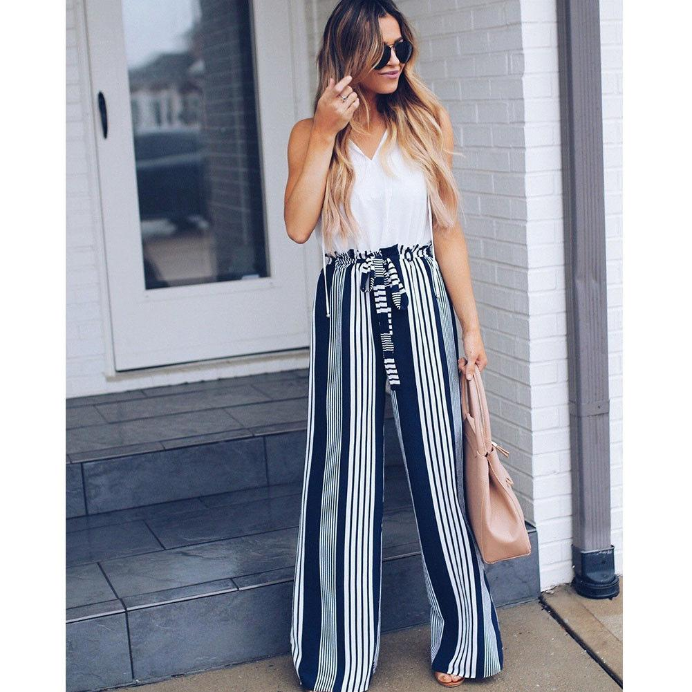 Wide Leg lace up Pants Hopikas
