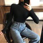 Load image into Gallery viewer, Women Turtleneck Sweater Hopikas