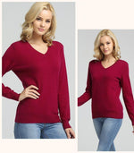 Load image into Gallery viewer, Womens Cashmere Sweater Hopikas