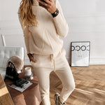 Load image into Gallery viewer, Women's Tracksuit (Sweater and Elastic Trousers) Hopikas