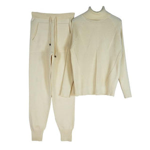 Women's Tracksuit (Sweater and Elastic Trousers) Hopikas Apircot One Size