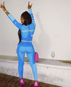 Womens Tracksuits and Long Sleeve Crop Top Hopikas