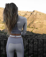 Load image into Gallery viewer, Womens Tracksuits and Long Sleeve Crop Top Hopikas