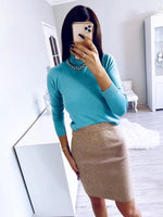 Load image into Gallery viewer, Womens Turtleneck Hopikas