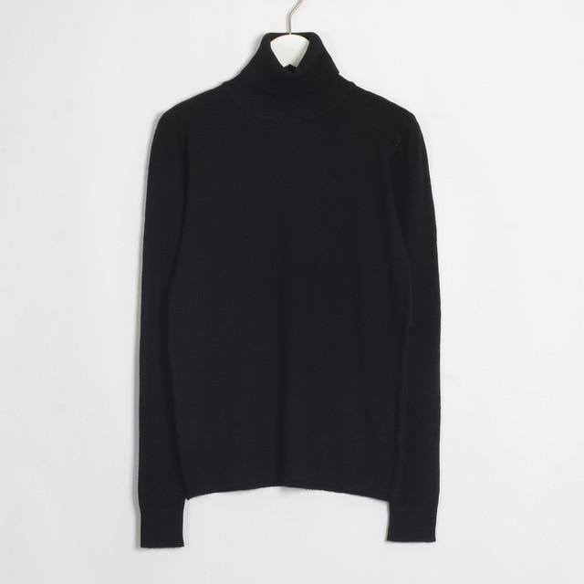 Womens Turtleneck Hopikas Black