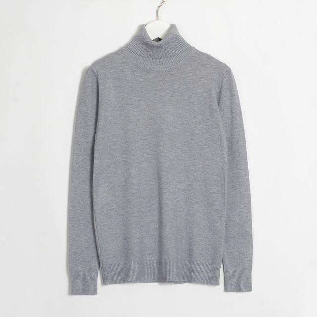 Womens Turtleneck Hopikas Gray