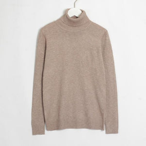 Womens Turtleneck Hopikas Khaki
