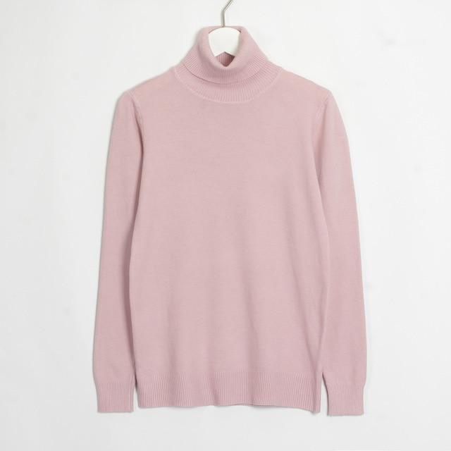 Womens Turtleneck Hopikas Pink