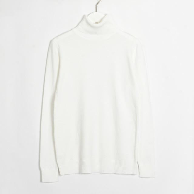 Womens Turtleneck Hopikas White