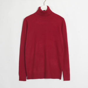 Womens Turtleneck Hopikas Wine Red