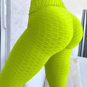 Workout Leggings Hopikas Fluorescent green L