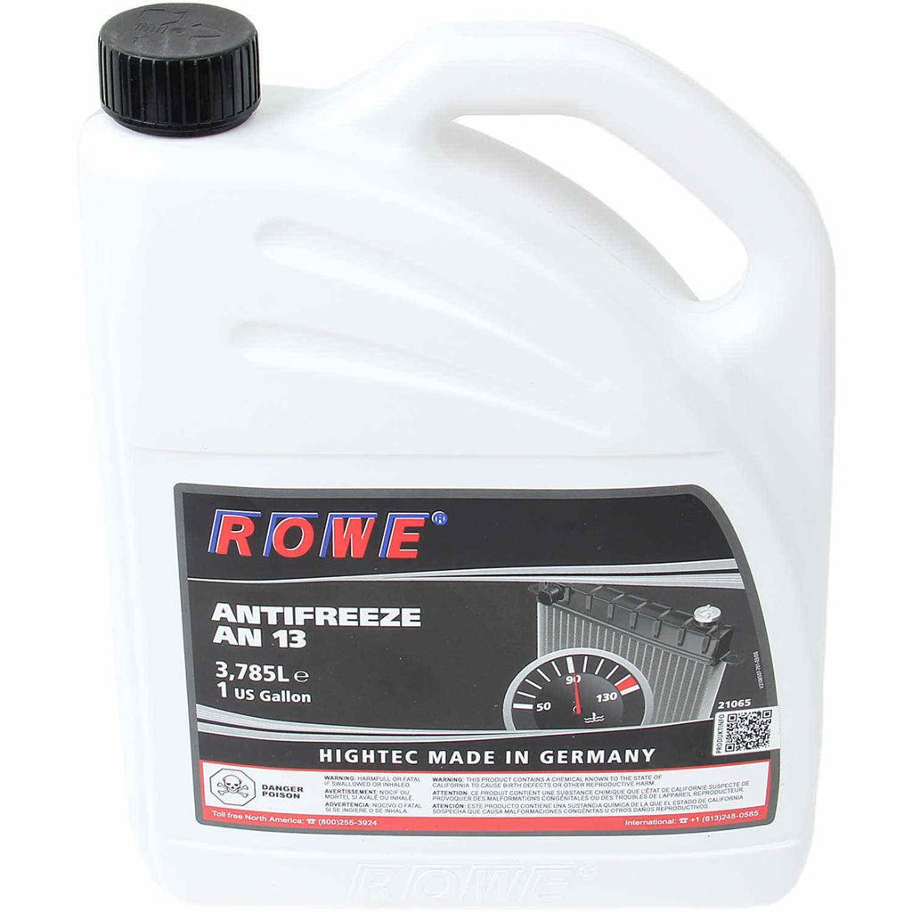 Rowe Antifreeze 1 Gallon Jug; Concentrate; G13E; Latest Formulation