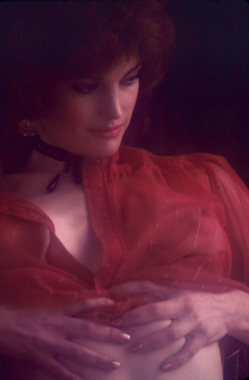 Donna Barnes 35mm Photograph by Bob Guccione - 1982