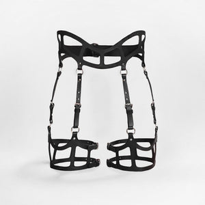 Fleet Ilya Curved Cut Out Suspender Harness