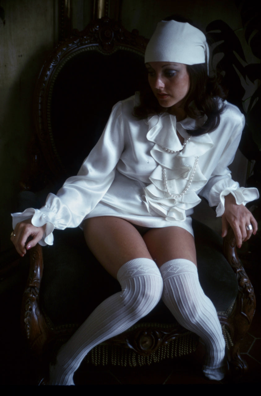 Lavinia Douglas 35mm Photograph by Bob Guccione - 1974