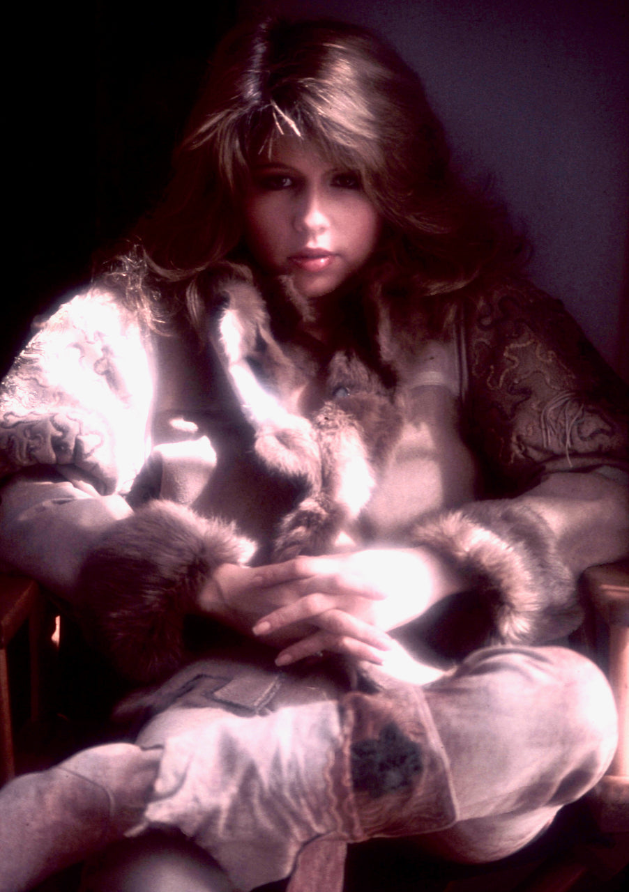 Pia Zadora 35mm Photograph by Bob Guccione - 1983 Female Nude