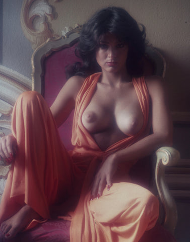 Debbie Zullo breast exposed on throne