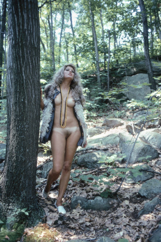 Patricia Barrett naked in the wild