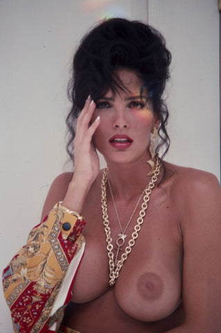 Julie Strain topless photoshoot