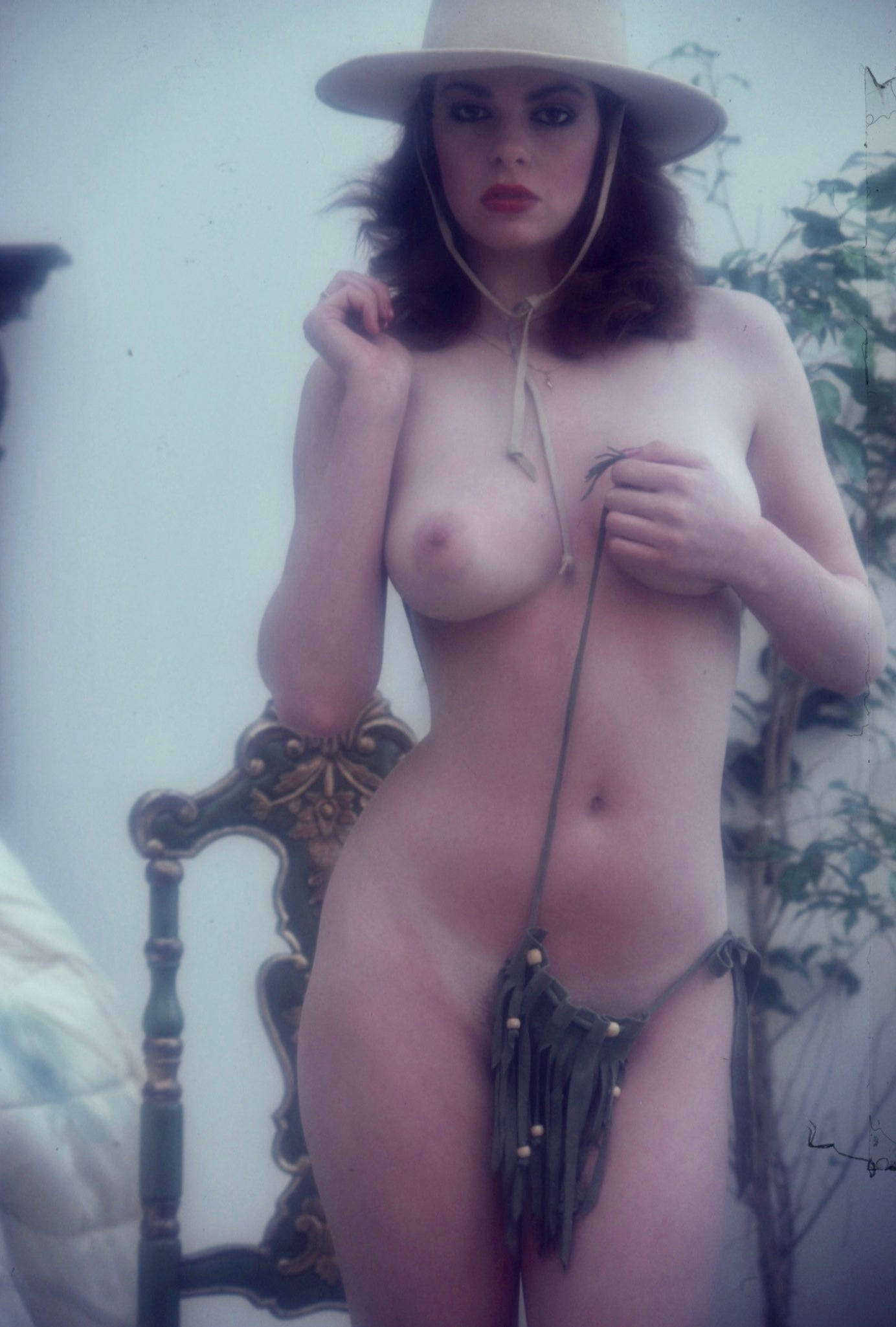 Lee Ann Lee nude portrait by Bob Guccione