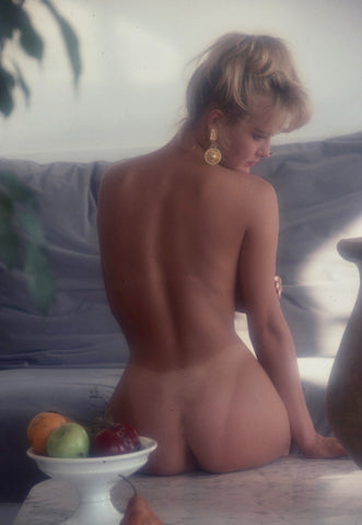 Stephanie Page bare back portrait
