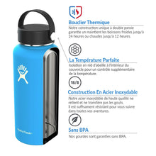 Charger l'image dans la galerie, Gourde Hydro-Flask Isotherme 532 ml - aqwa-france
