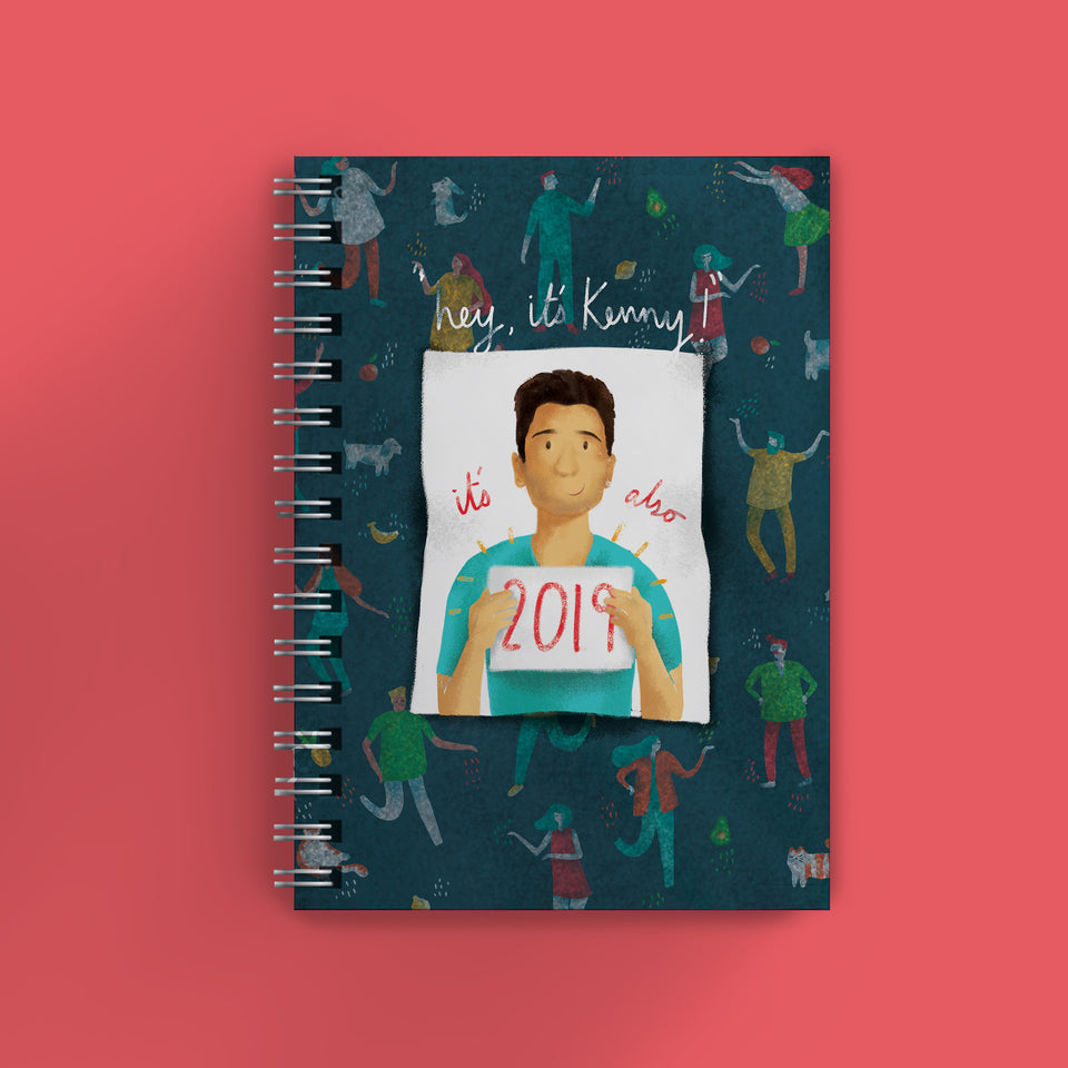 Official Kenny Sebastian Year Planner