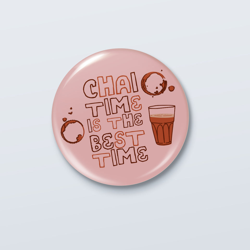 Chai Time - Official Kenny Sebastian Badge