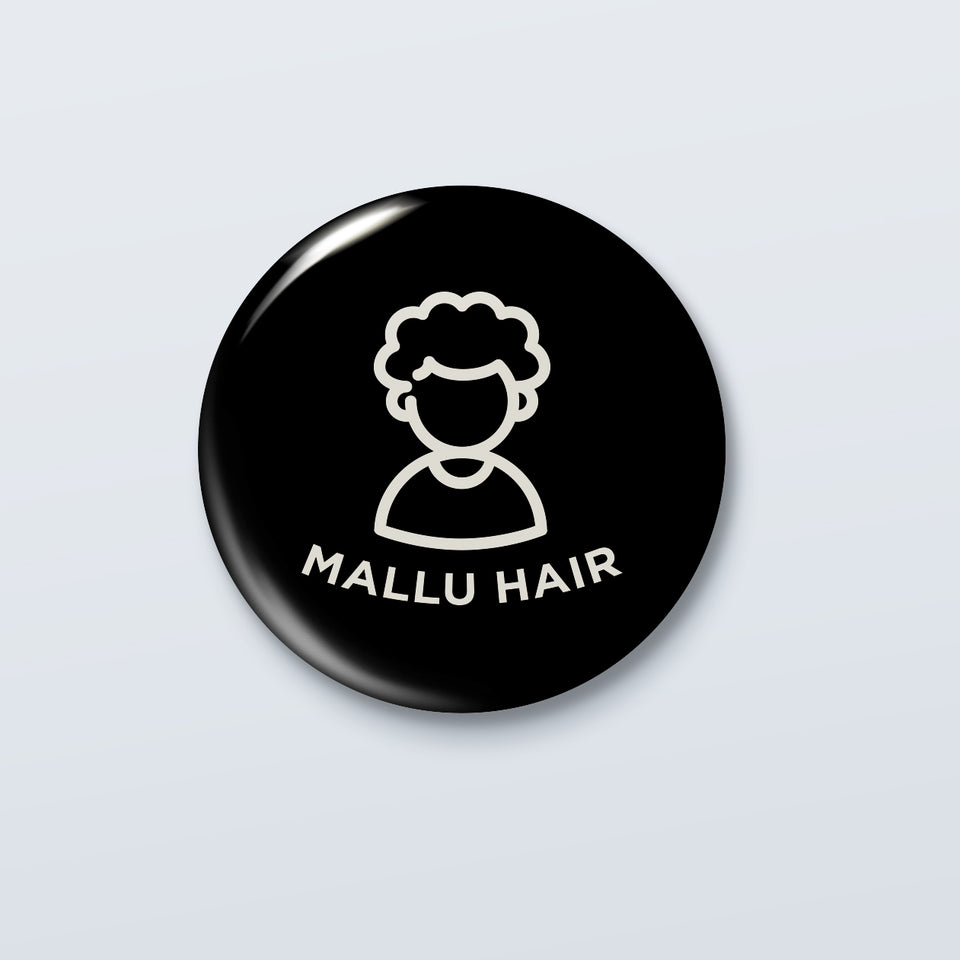 Mallu Hair - Abish Mathew Badge